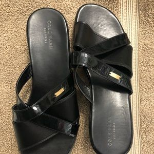 Gently used Cole Haan black dress shoes size 8